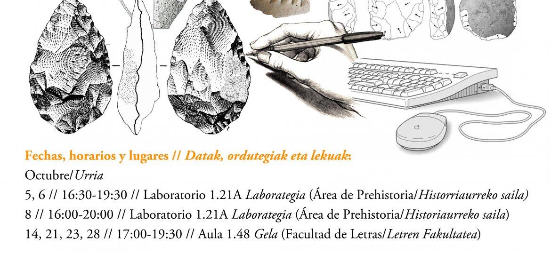 Curso de dibujo arqueológico